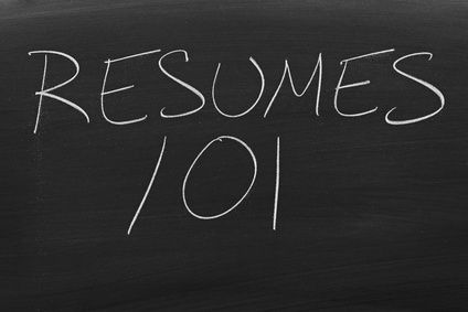 resumes 101 - Entry-Level Resumes